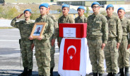 Hakkari'de Şehit Olan Üç Asker İçin İlk Tören Yapıldı