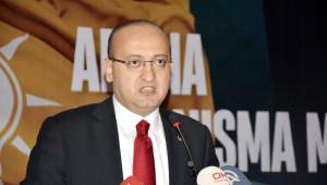 Başbakan Yardımcısı Yalçın Akdoğan, AK Parti 66. Adana İl Danışma Toplantısına Katıldı