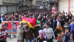 Kars'ta Öldürülen PKK'lı Doğubayazıt'ta Toprağa Verildi