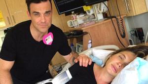 2. Kez Baba Olan Robbie Williams, Eşiyle Kucak Dansı Yaptı