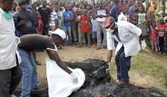 Kongo'da, Teröristi Yakıp, Cesedini Yediler