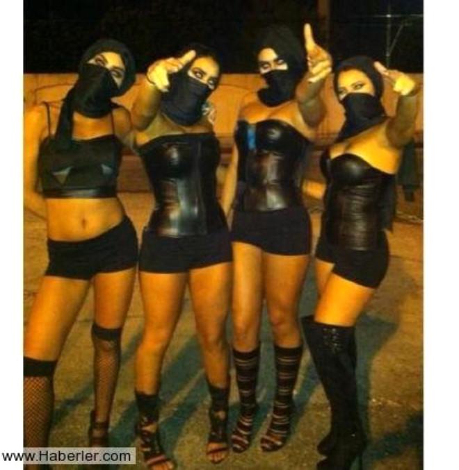 Amerikalı Kızlar Cadılar Bayramı'nda IŞİD Militanı Oldu