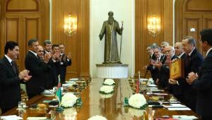 Erdoğan: Türkiye-Türkmenistan İlişkileri Örnek ve Özel Bir Seviyeye Ulaştı