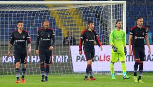 İstanbul Başakşehir: 1 - Beşiktaş: 0 (İlk Yarı)