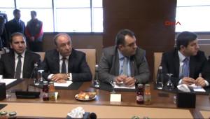 Spor Bakanı Kılıç, Tff Başkanı ve Kulüpler Birliği Yönetimini Kabul Etti