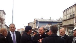 Milletvekili Yılmaz Karayazı ve Karaçoban'da…