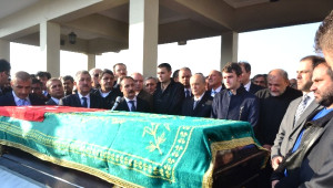 MHP Grup Başkanvekili Vural Eşini Son Yolculuğuna Uğurladı