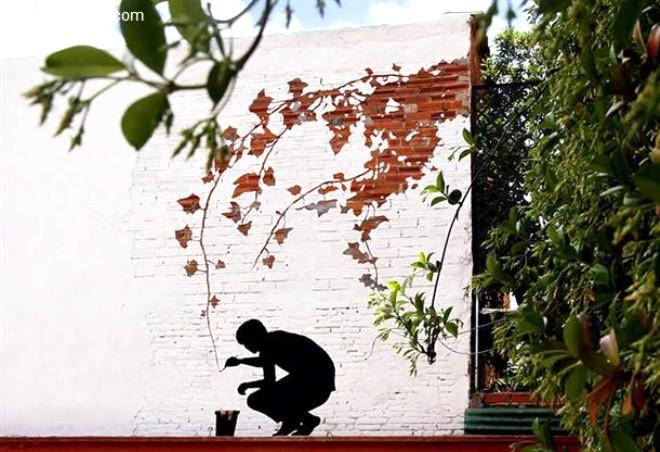Şehirlere Sanatını Getiriyor