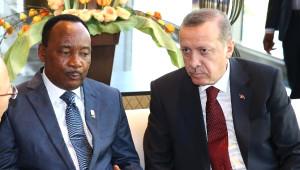 Erdoğan, Nijer ve Çad Cumhurbaşkanlarıyla Görüştü