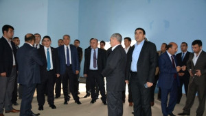 Patnos İlçesi Başbakan Davutoğlu'nu Karşılamaya Hazır