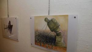 31. Aydın Doğan Uluslararası Karikatür Yarışması Sergisi, Basın Müzesi'nde Açıldı