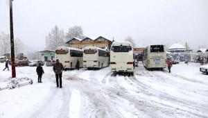 Akseki'de Kar 30 Santimi Buldu (2)