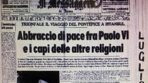 Papaların Türkiye Ziyaretleri