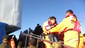 Sürüklenen Gemideki 235 Suriyeli Kaçak, Böyle Kurtarıldı