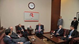 Kosovalı İş Adamları Vali Tuna'yı Ziyaret Etti