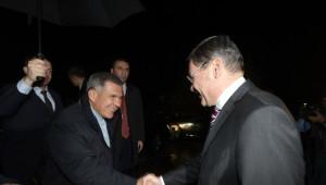 Başkan Gökçek, Tataristan Cumhurbaşkanı'nı Ağırladı