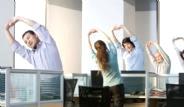 Evde ve Ofiste Egzersiz Yapın Sağlıklı Kalın