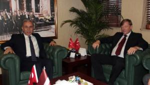 Letonya Büyükelçisi Sjanitis'ten Vali Büyük'e Ziyaret