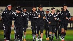 Beşiktaş, Tottenham Maçı Hazırlıklarını Tamamladı