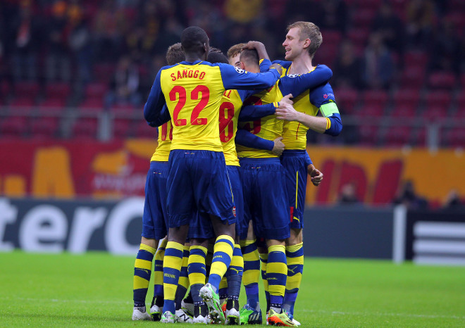 Galatasaray: 1 - Arsenal: 4
