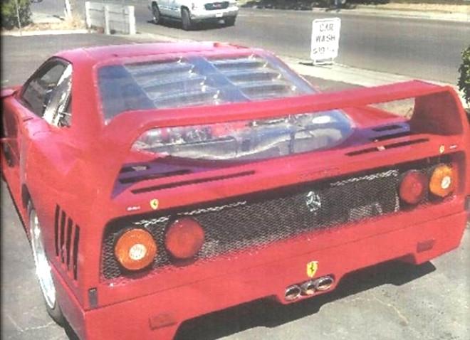 Sahte Bir Ferrari F40 Almak Ne Kadara Mal Oluyor?