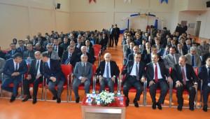 Vali Şahin Bafra'da Okul İdarecileri ile Toplantı Yaptı