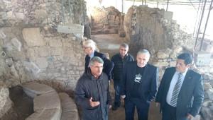 Eski Kültür Bakanı Sağlar Antandors' U İnceledi