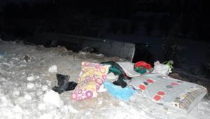 Sivas'ta Otobüs Şarampole Devrildi: 1 Ölü, 20 Yaralı (2)