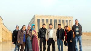 Gaün Öğrencileri Kalkınma Bakanlığı ile Merkez Bankası'nı Ziyaret Etti