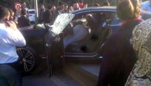 Sarıyer'de Lüks Otomobilde İnfaz