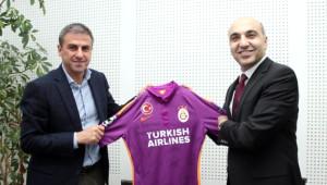 Başkan Kerimoğlu'ndan, Galatasaray'a Ziyaret