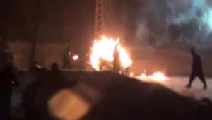 Hakkari'de İzinsiz Gösteriye Polis Müdahalesi