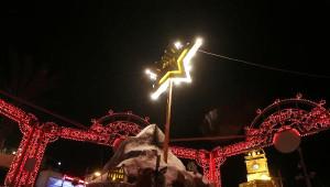 Antalya'da Yılbaşı Işıkları Yandı