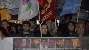 Eskişehir'de Uludere Protestosu