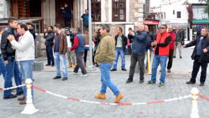 Hdp'nin Bodrum'daki Uludere Eyleminde Kısa Süreli Gerginlik