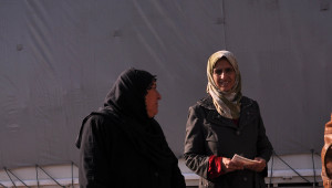 Kızılay'dan Mültecilere Yardım