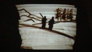 Sarıkamış Şehitleri İçin Kumlu Sanat Gösterisi