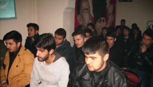 Kars Ülkü Ocakları Mekke'nin Fethini, Sarıkamış Şehitlerini ve Seyyid Ahmet Arvasi'yi Andı