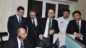 Vali Kolat'tan İtfaiye, Karakol ve 112 Çalışanlarına Yılbaşı Ziyareti