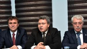 Milletvekili Üstün'den Değerlendirme Toplantısı