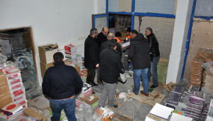 Ankara'da Korsan Kitap Ele Geçirildi