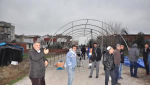 Kobani'de Ölen Suriyeli İçin Torbalı'da Taziye Çadırı (2) - Yeniden