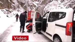 Trabzon'da Çığ Düştü: 1 Ölü, 4 İşçi Çığ Altında