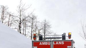 Ateşlenen 3 Yaşındaki Murat, Paletli Ambulansla Kurtarıldı