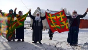 Işid'le Girdiği Çatışmada Ölen Ypg'li Ağrı'da Toprağa Verildi