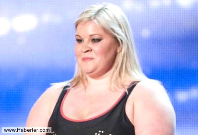 Obez Kadın Jüriyi Şok Etti