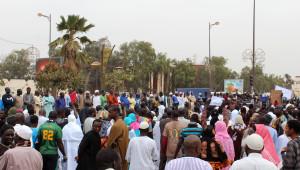 Senegal'de Charlie Hebdo Protesto Edildi