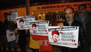 Ali İsmail Korkmaz Kararı Hatay'da Protesto Edildi
