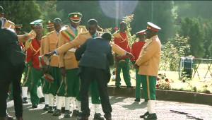 Etiyopya'da Erdoğan'ı Karşılama Töreninde Tören Kıtası Didik Didik Arandı
