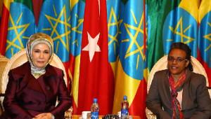 Emine Erdoğan, Addis Ababa Ulusal Müzesi'ni Ziyaret Etti